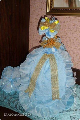 Леди в голубом (куклы-шкатулки) фото 7