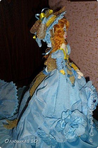 Леди в голубом (куклы-шкатулки) фото 9