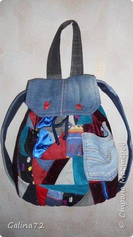 Рюкзачек в подарок племяннице.  фото 1