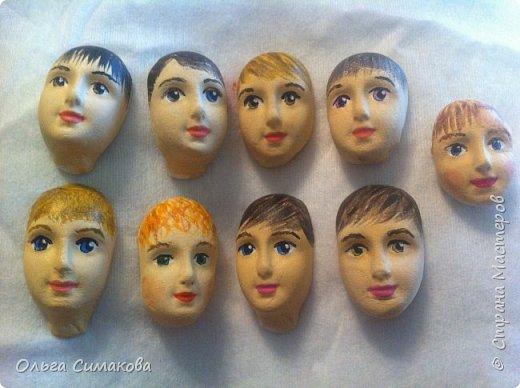 Недавно я получила удивительную посылку от Маши!)  http://stranamasterov.ru/user/388952 Невероятно красивые лица! И по моему, они все мальчики!) Как раз мальчиков я рисовать категорически не умею! А тут, такое счастье! фото 25