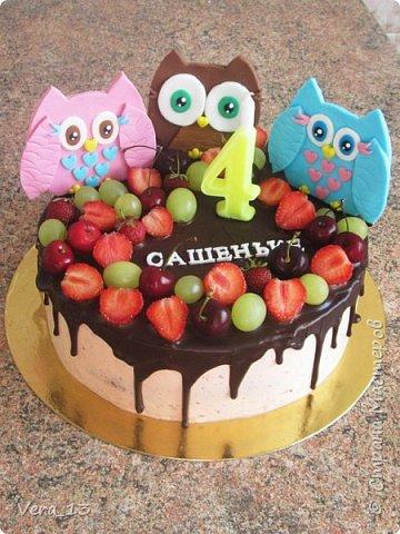 Привет, Страна! Накопились тортики, давно не выкладывала. Приглашаю в гости) Приятного просмотра) Очень много стали заказывать с фруктами. фото 1