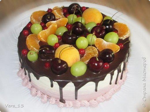 Привет, Страна! Накопились тортики, давно не выкладывала. Приглашаю в гости) Приятного просмотра) Очень много стали заказывать с фруктами. фото 12