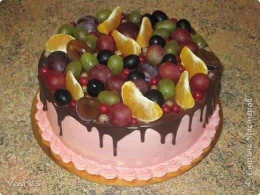 Привет, Страна! Накопились тортики, давно не выкладывала. Приглашаю в гости) Приятного просмотра) Очень много стали заказывать с фруктами. фото 21