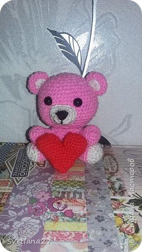 Розовый медвежонок  фото 2