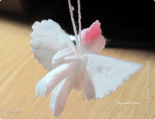 Пока делала ангелочков из ватных дисков http://stranamasterov.ru/node/1052665,  подумала, что по такому же принципу можно сделать и петушков. фото 4