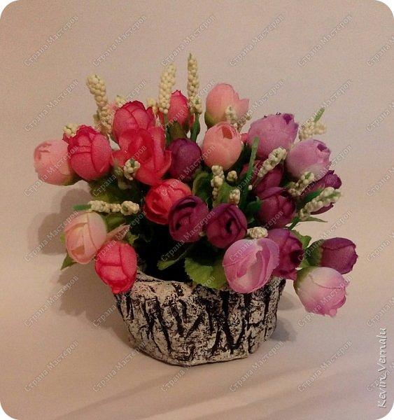 Пока ко мне едут цветы из страны восходящего солнца,делаю горшочки фото 11