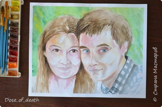 Подарок на годовщину свадьбы. Александр и Екатерина