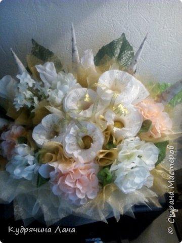 цветочная композиция в корзине фото 1