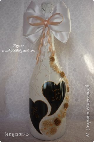 Бутылка на свадьбу № 5 фото 1