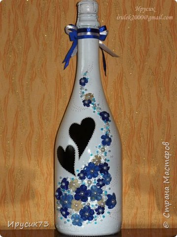 Бутылка на свадьбу № 6 фото 1