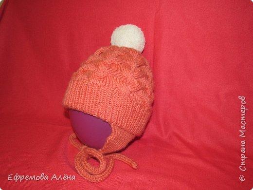 Вот такие шарфики и шапочки связались у меня для моих двойняшек крестиков Даниила и Дарьи фото 13