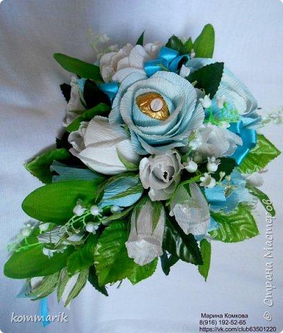 Букет-дублер для невесты фото 1