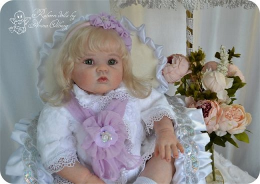 Здравствуйте, девочки! Представляю вашему вниманию очередную новенькую куколку из моей мастерской:) Знакомьтесь, милая, нежная, зеленоглазая Викуля. Рост 63см, вес 3 кг фото 6
