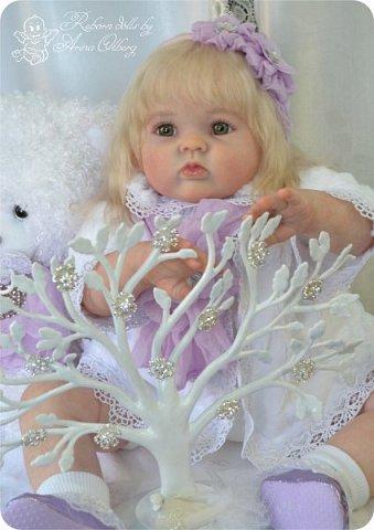 Здравствуйте, девочки! Представляю вашему вниманию очередную новенькую куколку из моей мастерской:) Знакомьтесь, милая, нежная, зеленоглазая Викуля. Рост 63см, вес 3 кг фото 8