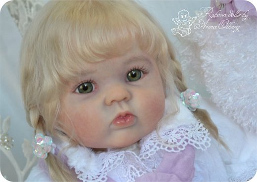 Здравствуйте, девочки! Представляю вашему вниманию очередную новенькую куколку из моей мастерской:) Знакомьтесь, милая, нежная, зеленоглазая Викуля. Рост 63см, вес 3 кг фото 15