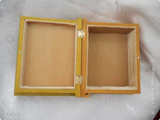 Ко дню учителя сотворила шкатулочку! Подарила...используется по назначению - под милые, добрые, ценные и не очень украшения... фото 6