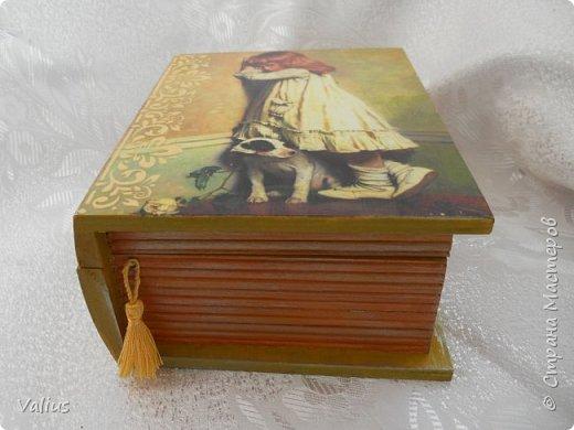 Ко дню учителя сотворила шкатулочку! Подарила...используется по назначению - под милые, добрые, ценные и не очень украшения... фото 3