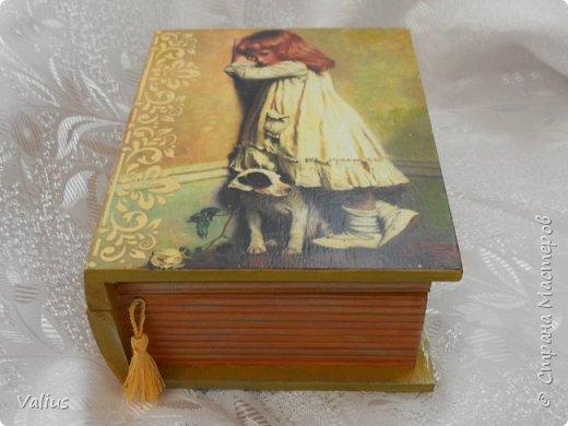 Ко дню учителя сотворила шкатулочку! Подарила...используется по назначению - под милые, добрые, ценные и не очень украшения... фото 1