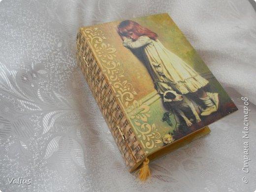 Ко дню учителя сотворила шкатулочку! Подарила...используется по назначению - под милые, добрые, ценные и не очень украшения... фото 7