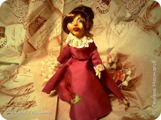 добрый вечер Страна мастеров!!!!! Хочу представить мое новое заните1 куклы!  это мои первые куклы в жизни..которые сделала сама!!  О куклах мечтала давно..собирала материал разный..все как то не начиналось..мне вообще люди с трудом даются..в вышивке даже..я долго собраться не могу и работа долго длиться..Но тут вот что то осенило!  Конечно не идеальные получились...оооочень много ошибок .недочетов.ошибок и тд..но все же...они получились!!!  Я сама то любуюсь ими...долго не решалась показывать их..но хочется научится и дельных подсказок!!! фото 6