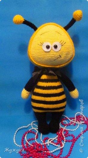 Пчелка связана по описанию Havva Designs фото 1