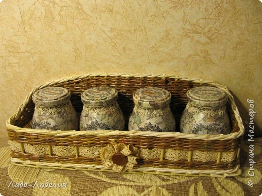 Пришла идея подарка - сделать набор душистых трав для чая. Травки свои, насушенные с лета. Вот что получилось. фото 1