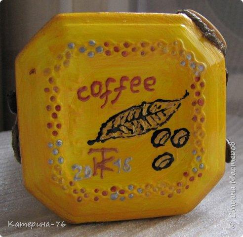 Всем доброго времени суток! Хочу показать Вам очередную африканскую баночку для кофе. Делала её для своей любимой свекрови. Вот смотрите что получилось... фото 5