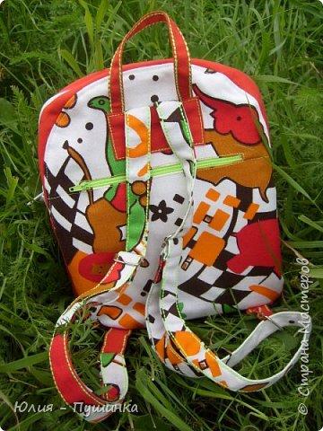 рюкзачок для ребенка, ремни регулируются фото 3