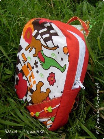 рюкзачок для ребенка, ремни регулируются фото 2