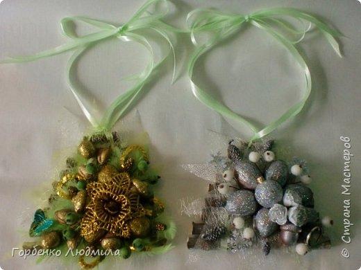 Добрый вечер,Страна! Сегодня я к вам с очередной порцией новогодних работ-ёлки-подвески из природного материала! Первые такие ёлочки можно посмотреть здесь http://stranamasterov.ru/node/976523  фото 10