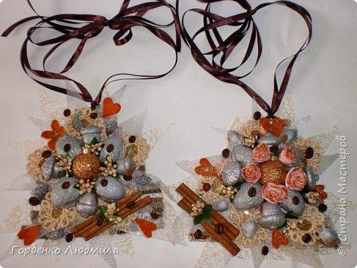 Добрый вечер,Страна! Сегодня я к вам с очередной порцией новогодних работ-ёлки-подвески из природного материала! Первые такие ёлочки можно посмотреть здесь http://stranamasterov.ru/node/976523  фото 1