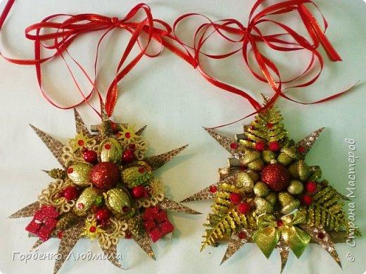Добрый вечер,Страна! Сегодня я к вам с очередной порцией новогодних работ-ёлки-подвески из природного материала! Первые такие ёлочки можно посмотреть здесь http://stranamasterov.ru/node/976523  фото 24