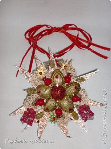 Добрый вечер,Страна! Сегодня я к вам с очередной порцией новогодних работ-ёлки-подвески из природного материала! Первые такие ёлочки можно посмотреть здесь http://stranamasterov.ru/node/976523  фото 26