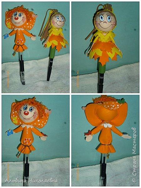 Здравствуйте дорогие мастера и мастерицы!Работы , все выполнены по мастер классу удивительной кукольницы из северной столицы Евгении Романовой. Сейчас много кукольниц, создающих своих куколок из фоамирана, но стиль, лица ее кукол, святящихся от улыбок, не спутаешь не с одним мастером, даже если они выполнены другим мастером, т.е . повторены, как сделала это я. Мои куклы-повторюшки я не боюсь об этом говорить, и всегда указывала и указываю мастера, чьими идеями я вдохновилась. Для чего это я пишу, дело в том, что сейчас многие использует ее мк для создания кукол, тех же петушков, но некоторые просто забывают указать чьи идеи они скопировали, что это означает, - просто присваивание чужих идей, и выдача их как своих. Однако, насколько мне известно право на авторство еще никто не отменял, я вновь призываю мастериц, давайте уважать друг друга, воспользовались чужой идеей, будите добры хоть укажите имя мастера, даже если он не проживает в стране, даже если вы купили его мастер класс.  Этого ангелочка, я сделала по мк Евгении Романовой, как и остальных куколок, увидела ее ангелочка-брошь на георгиевской ленточке, подумала а что если не брошь, а маленького ангелочка, получилось то что вы видите, одариваемому понравилось, как вам не знаю, напишите узнаем фото 2