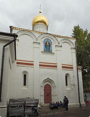 Москва. Церковь Рождества Пресвятой Богородицы в Старом Симонове. фото 4