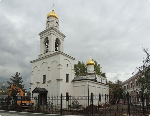 Москва. Церковь Рождества Пресвятой Богородицы в Старом Симонове. фото 1