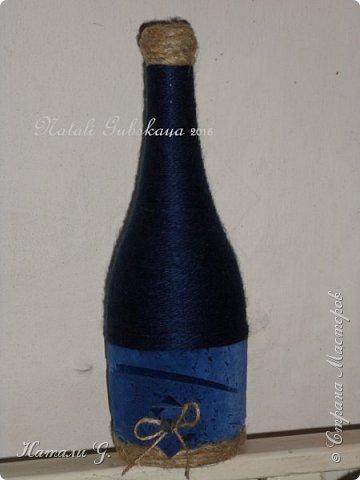 Декор бутылок (разные)-2 фото 3