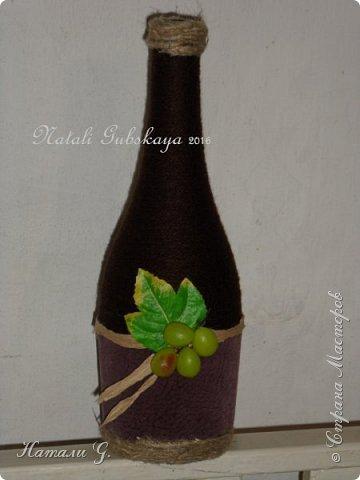 Декор бутылок (разные)-2 фото 4