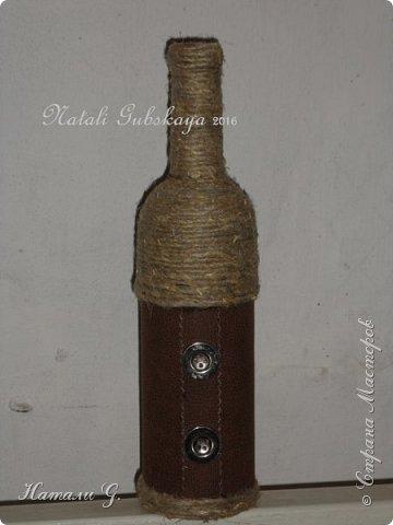 Декор бутылок (разные)-3 фото 3
