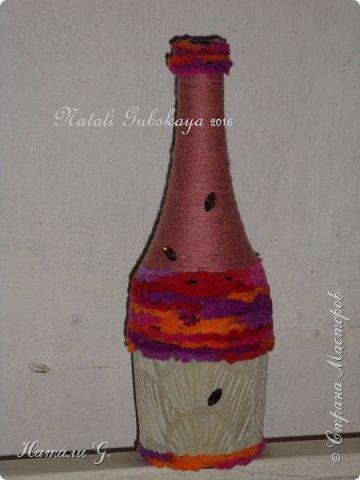Декор бутылок (разные)-3 фото 4