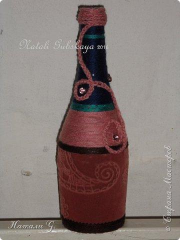 Декор бутылок (разные)-3 фото 1