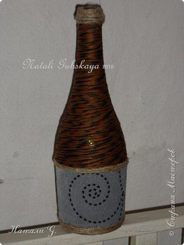 Декор бутылок (разные)-3 фото 2