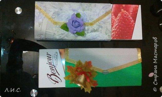 Вот такие получились клатчи в подарок учителям по вокалу и в художественной школе. фото 4