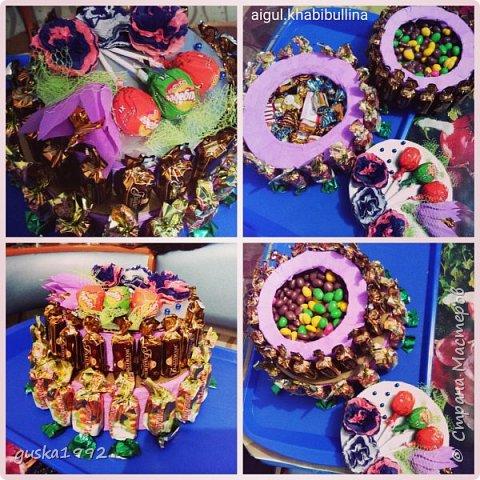 """Это на день рождение сестренки))) как мама сказала """"фальшивый торт"""")))"""