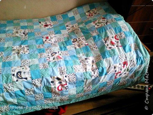 вот оно, мое одеялко для младшего сыночка фото 2