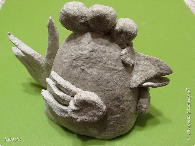 Здравствуйте, мои дорогие и любимые соседи по Стране! Когда я выложила своих петушков, многие заинтересовались процессом создания, поэтому решила подготовить МК. Таким образом родился новый Петя - Петушок . Пыталась имитировать керамику. фото 28