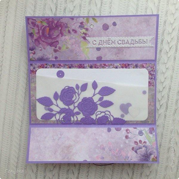 """По прежнему любимая бумага:) Galeria Papieru. """"Purple Rain-Фиолетовый дождь"""" фото 6"""