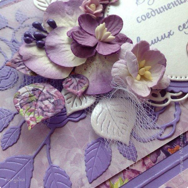 """По прежнему любимая бумага:) Galeria Papieru. """"Purple Rain-Фиолетовый дождь"""" фото 3"""
