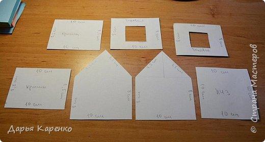 Всем большой привет! У меня на канале уже было видео про домик из папье-маше, но я решила изготовить домик в другой технике и более красивее, используя картон, бумагу с принтом, кружево и клеевой пистолет. Такой домик делается намного проще и быстрей.  Огромное спасибо за внимание, ставьте пожалуйста лайк и подписывайтесь :) Жду ваших отзывов))) фото 5
