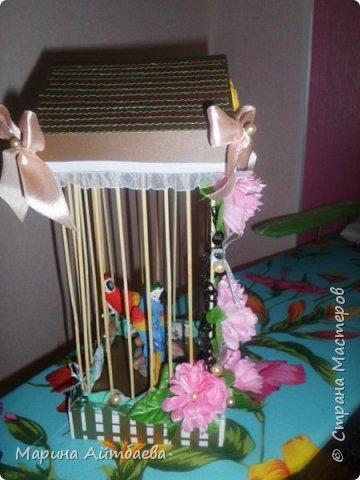 Птички в клетке  фото 2